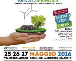 Radio Stonata a Re-Start Innovation: 25/26/27 Maggio a Cassino (FR)